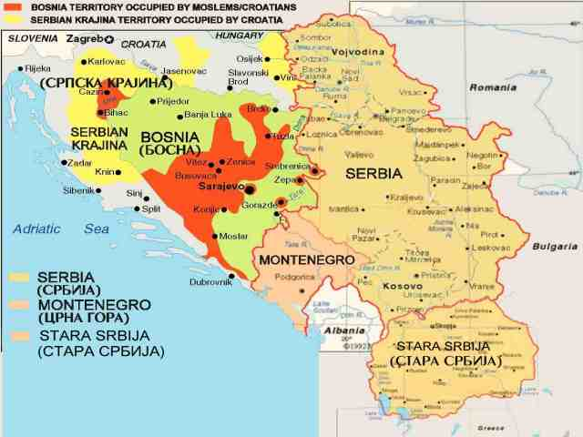Dalibor Lanik Home Page Map Of Serbian Lands - Map of serbia